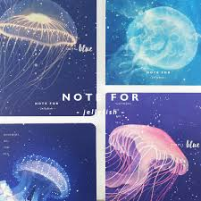aliexpress com buy note for jellyfish creative notebook 12 5
