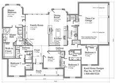 Single Story Farmhouse Plans One Story 40x50 Floor Plan Home Builders Single Story