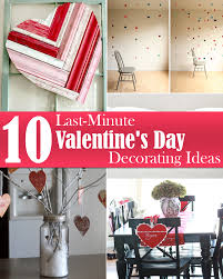 10 last minute valentine u0027s day decorating ideas