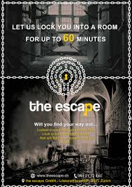 entry 22 by mohamedeladawi for flyer design for an escape game