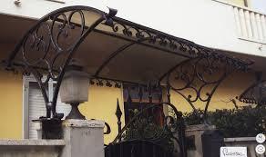 tettoia ferro battuto tettoie e pensiline in ferro battuto