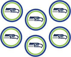 Seahawks Decorations Small Seattle Seahawks Logo Cut Outs From Printabletreats Com