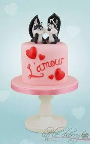 pepe le pew skunk cake cake pinterest fancy cakes