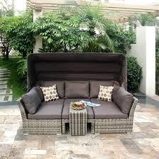 Grey Rattan Outdoor Furniture by Patio Furniture Recliner U2013 Smashingplates Us