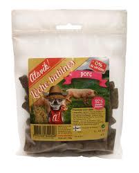 sachet pour biscuit lèche babines porc friandise naturelle pour chien atavik