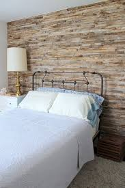 modern farmhouse bedroom with vintage furniture feat beige minimalist bedroom with brick wall also vintage furniture using metal twin bed