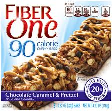 fiber one 90 calorie bar chocolate peanut butter 5 0 82 oz bars
