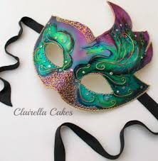 peacock masquerade masks peacock masquerade mask cake by clairella cakes cakesdecor