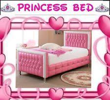 Girls Pink Bed by Girls Princess Bed Ebay