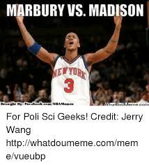 Madison Meme - marbury vs madison brought by fac ebookcomnbamenness for poli sci