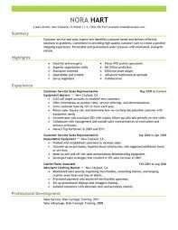 Resume Examples Customer Service Resume by Best Customer Service Representatives Resume Example Livecareer