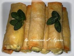 recette cuisine libanaise mezze cigares croustillants à la feta et à la menthe la cuisine d