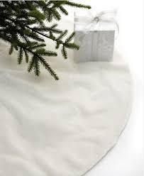 white tree skirt macy s tree skirts a white christmas