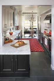 White Carrera Marble Kitchen Countertops - red and white kitchens european marble and granite