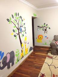 Beautiful Wall Stickers For Room Interior Design Modern Natural Design Of The Green Grass Wall Sticker That Has