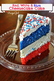 red white and blue cheesecake cake recipe says it u0027s easy to