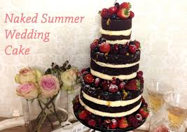how to make a summer wedding cake youtube