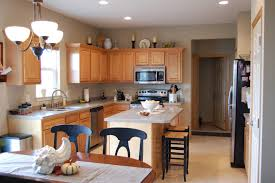 Stain Kitchen Cabinets Without Sanding by Brown Kitchen Walls With Oak Cabinets Kitchen Cabinets