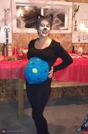 Womens Cat Costumes Halloween Cat Holding Fishbowl Diy Costume Idea Pregnant Women