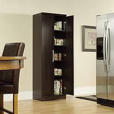 Sauder 5 Shelf Bookcase by Sauder Home Plus Sienna Oak Storage Cabinet 411963 The Home Depot