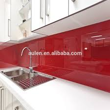 High Glossy Color Colored Acrylic Wall Panels For Decoration - Acrylic backsplash