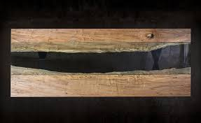 Raw Edge Table by Colorado Live Edge Maple And Glass Dining Table U2014 Sentient Made