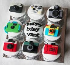 41 best camera cakes cake topers and cupcakes images on pinterest