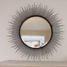 interior u0026 decor martha stewart sunburst mirror silver sunburst