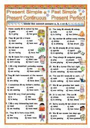 english exercises 30 sentences do does did will