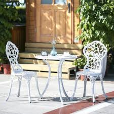 Bar Set Patio Furniture Adorable Modern Outdoor Patio Furniture Bar Set Aluminum Porch