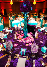 purple and turquoise wedding best 25 purple turquoise weddings ideas on peacock