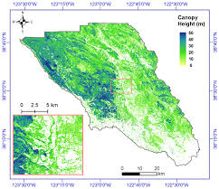 Sonoma Canopy by Cms Lidar Derived Biomass Canopy Height And Cover Sonoma County