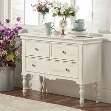 mckay country antique white buffet storage server by inspire q