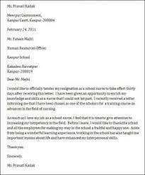 resignation letter format board resignation letter sample design