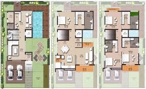 interesting triplex house plans india ideas best inspiration