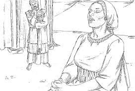 hannah praying coloring page murderthestout