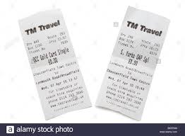 travel tickets images Two tm travel bus tickets outward and return journeys stock photo jpg