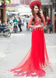 ao dai cuoi dep những mẫu áo dài cưới đẹp nhất cho cô dâu tại tp hcm 2456393