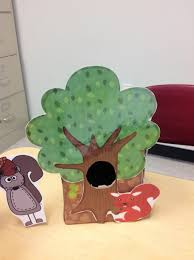 activities for speech and language using squirrels