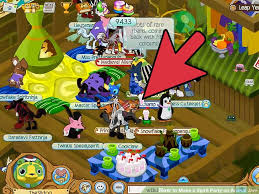 Rare How To Make Video How To Make A Spirit Party On Animal Jam 4 Steps With Pictures