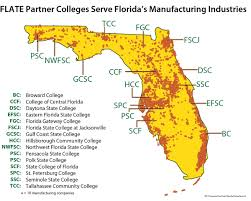 Pensacola Florida Map by Industry