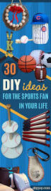 30 cool diy ideas for the sports fan in your life easy gifts