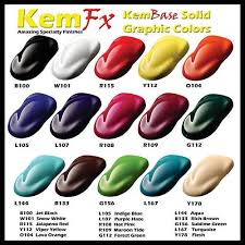 full quart automotive car or motorcycle paint solid color basecoat