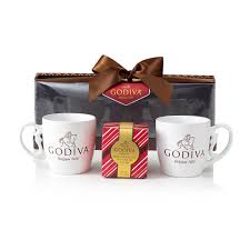 hot chocolate gift set godiva mugs hot cocoa gift set godiva