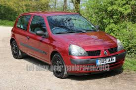 renault clio 2002 sedan renault clio 1 2 authentique 1 years tax mot until nov 74k
