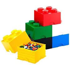 storage cube ottoman with tray lego brick carry case fold out
