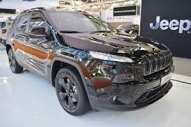jeep eagle 2016 jeep cherokee night eagle front three quarters at 2016 bologna motor