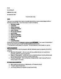 lord of the flies themes and messages lord of the flies theme analysis essay assignment by teaching by the