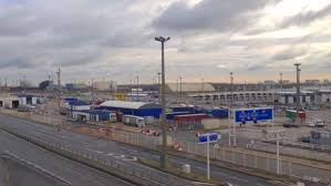 bureau de change a calais striking ferry workers blockade port of calais