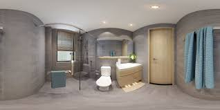 panorama 360 modern style bathroom toilet space 01 3d model max panorama 360 modern style bathroom toilet space 01 3d model max 1